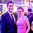 Steven and Heidi Skiff at Bering Omega's Sing for Hope after-party