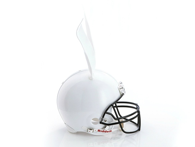 Cynthia Rowley helmet for Bloomingdale's Fashion Touchdown
