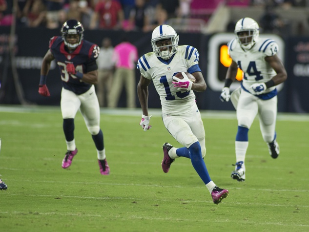 6 Texans vs. Colts October 2014 Colts 19 on the run