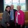 Anne Csorba, from left, with Paul and Anne Pressler at the Brookwood luncheon April 2014