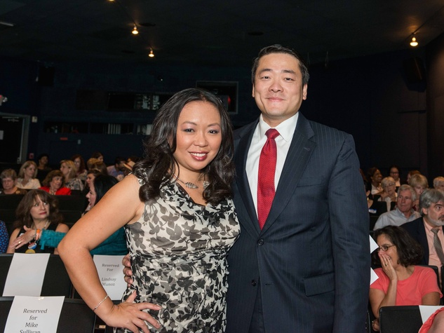 Miya Shay, Gene Wu at Houston's Women's Equality Day Celebration