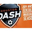 Houston Dash women's soccer team logo March 2014