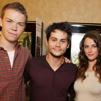 Will Poulter, Dylan O Brien and Kaya Scodelario from The Maze Runner ec54174cab