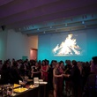 18 crowd, venue at the Menil Young Professionals party December 2013