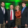 Gregg Ring, from left, Michael Francisco and Kim and Nick Tutcher at the Touchdown for Teachers dinner November 2014
