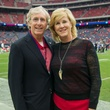8 Clark and Laurie Kemble at the Texans vs. Eagles sideline party November 2014