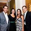Matt and Jillian Kata, from left, with Allison and Reese Ryan at the Friends for Life Gala October 2013