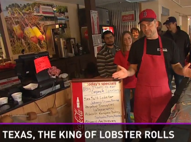 World record lobster roll