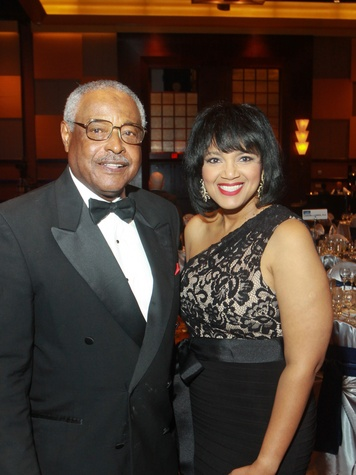 21 Anthony W. Hall Jr. and Delesa O'Dell-Thomas at the UNCF Gala November 2013