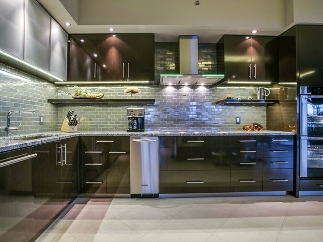 Kitchen at 3831 Turtle Creek Blvd. in Dallas