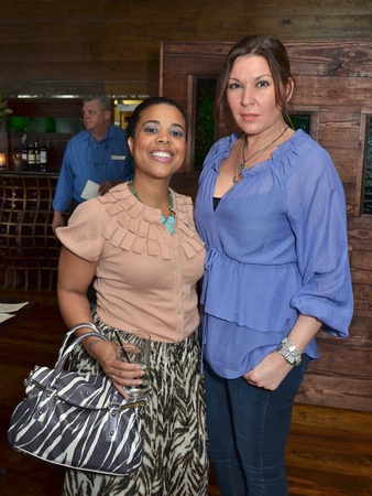 News_Houston Area Women's Center Mixer_May 2012_Nyala Wright_Julia Sharaby