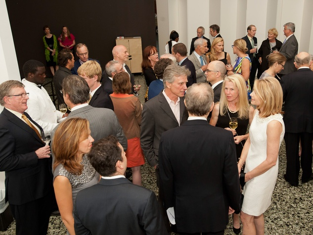 News_MFAH Turrell dinner_May 2012_Turrell dinner_venue_crowd