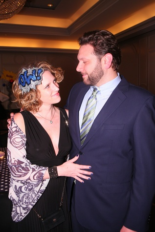 "Shannon and Jason Scarcella at Crossroads School's ""Superhero Soiree"" Gala February 2015"