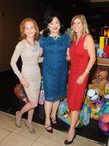 6141, Joyful Toyful at Gigi's, December 2012, Carol Sawyer, Gigi Huang, Edie Saville