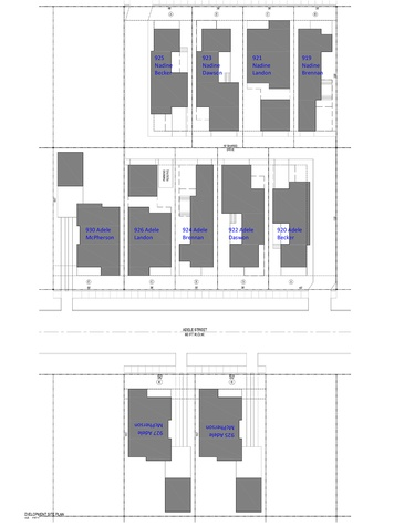 Porch Street Adele Site Plan July 2014