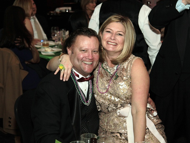Jamie and Dee Dee Gilder at West University Park Lovers Ball February 2014