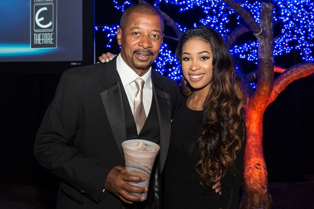 News, Shelby, Ensemble Theatre gala, August 2014 , Robert Townsend, Skylar Townsend