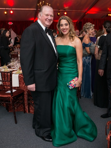 News, Shelby, HGO opening night, Oct. 2015, Paul Somerville, Kristina Somerville