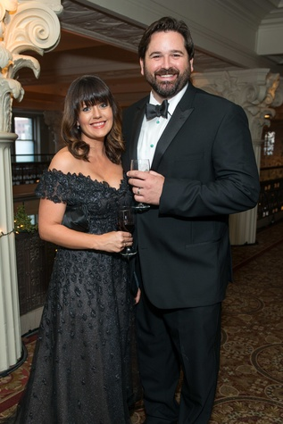 211 Jennifer and Bryan Caswell at the Houston Symphony Wolfgang Puck wine dinner March 2015