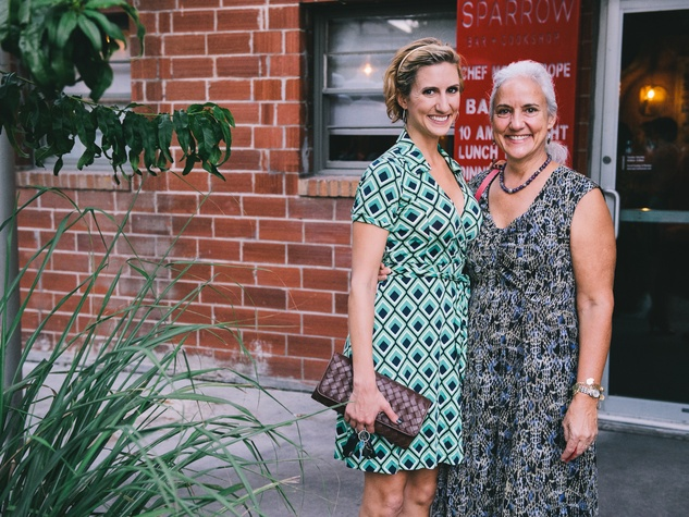 12 Meagan Tice, left, and Debra Tice at Dine Around Houston at Sparrow Bar & Cookshop