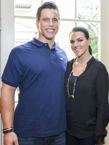 9 DePelchin Children's Center Gala kickoff Brian Cushing and Megan Cushing