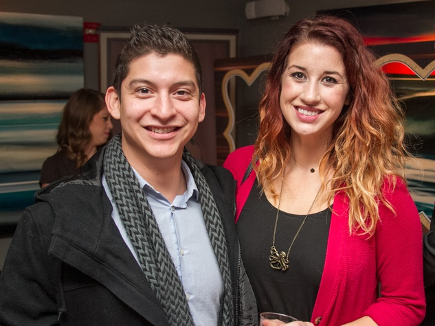 Woodford Reserve Movember Event at Kunst Gallery Nick Prince Alex Stixrood