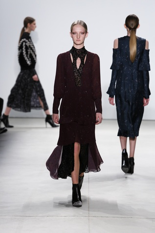 Yigal Azrouel fall 2016 collection look 24