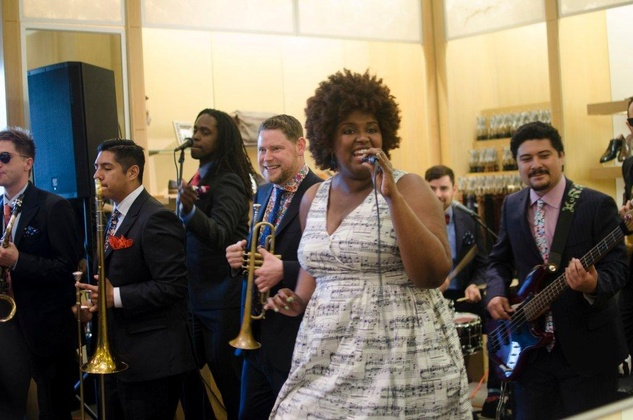 The Suffers private performance at M Penner