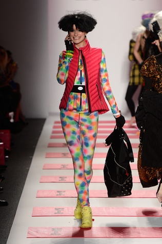 Betsey Johnson, Mercedes-Benz Fashion Week, February 2013