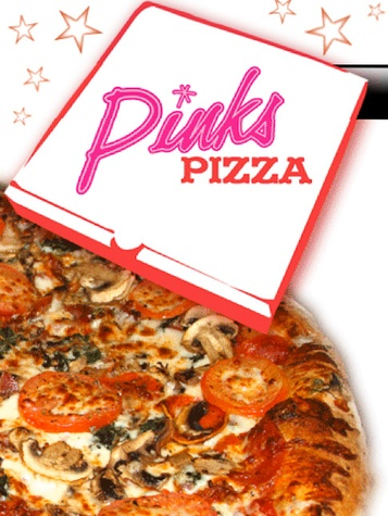 News_Pink's Pizza_web site