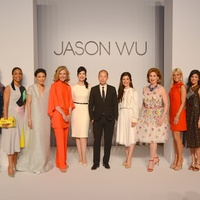 14 Carol Linn,Gina Gaston Elie, Duyen Nguyen, Katie Brass, Kelli Cohen Fein, Jason Wu, Cynthia Petrello, Denise Bush Bahr,Ali Fields, Kristy Bradshaw, Garcie Cavnar at the Best Dressed luncheon March 2015