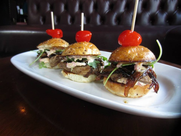 Sliders at The Quarter bar in Dallas