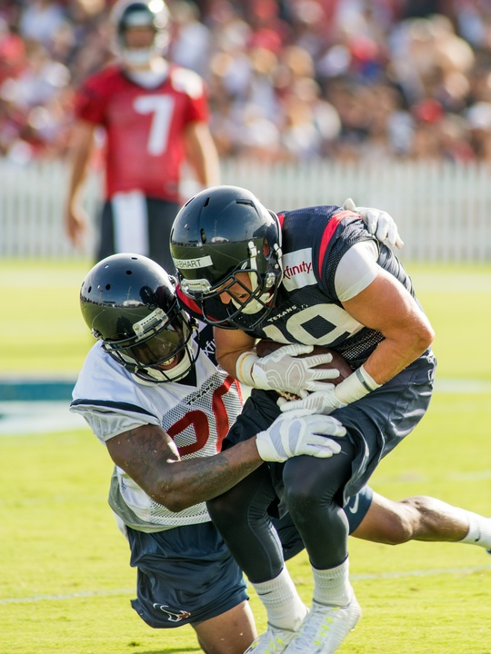 Texans pass attempt camp
