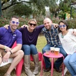 Hunter Greene, from left, Brooke Story, Drew Sabetti and Alicia Zaccagni at Houston's Young Professionals Flock to a Beastly Brunch at the zoo February 2015