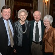 Frank Hood, from left, Jan Barrow and Harry and Diane Webb at the Houston Chamber Choir Gala April 2014