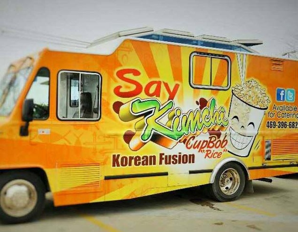 Say Kimchi Is The Newest Arrival On Dallas Thriving Food Truck Scene Photo Courtesy Of