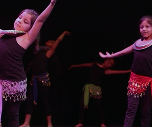 KLRU PBS Arts in Context Dance Another World students Egyptian dance