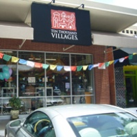 Ten Thousand Villages Houston store exterior Pop Up Shop retailers November 2014 195 by 195 pixels