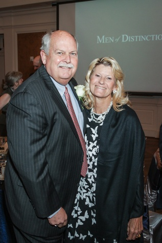 News, Shelby, Men of Distinction luncheon, May 2015, Dr. David Weekley, Bonnie Weekley