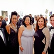 37 Russell Handy, from left, Lisa Hubbard, Karen Berry Jordan, Julia Acosta and Raphael Arias at the CAMH Gala March 2015