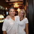 Rob and Roxanne Paiva at the Springbok restaurant kick-off party July 2014