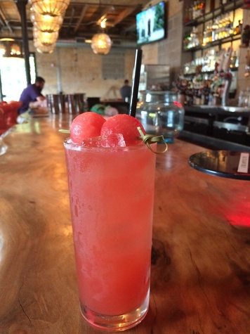 La Grange watermelon fresca cocktail