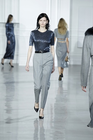 Jason Wu pants and blouse fall 2015 collection