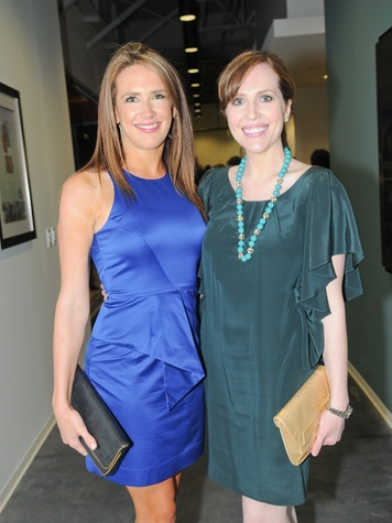 5 Carrie Carson, left, and Mary Patton at the Dress for Success 15th anniversary party October 2013