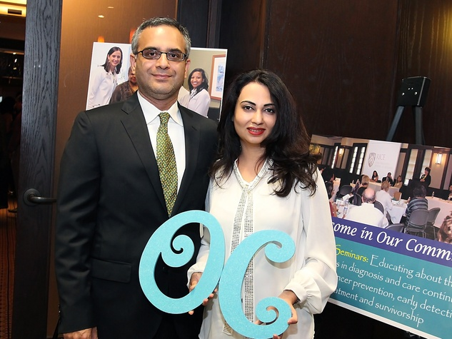 10 Nomaan and Kamila Husain at the Ovarcome Gala May 2014