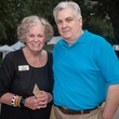 Julie and Byron Pettit at Bayou City Art Festival Downtown's Art Heist