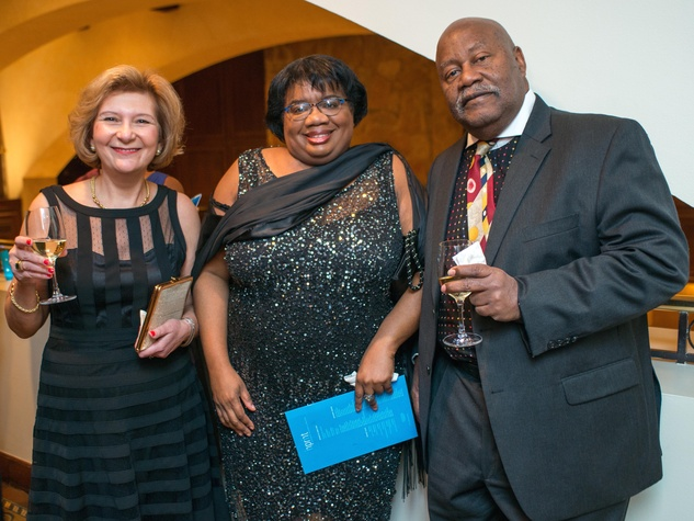 Gulchin Ergun, Robbi Jones, Robert Ford at Inprint Gala