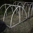 Photo of frost blanket frames for raised garden beds