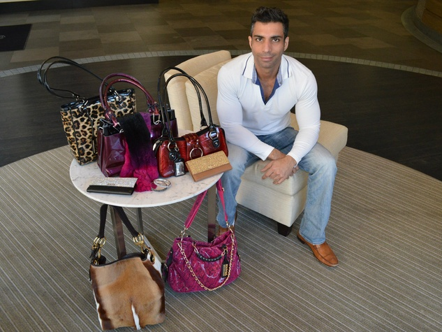Dallas accessories designer Bobby Schandra