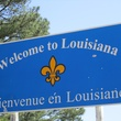 Louisiana welcome to sign state line